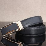 cheap Stylish Faux Leather Automatic Buckle Wide Belt
