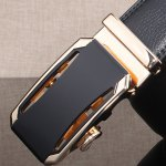 Stylish Faux Leather Automatic Buckle Wide Belt deal