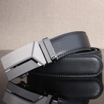 cheap Stylish Polished 3D Y Shape Automatic Buckle Wide Belt