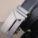 Stylish Polished 3D Y Shape Automatic Buckle Wide Belt deal
