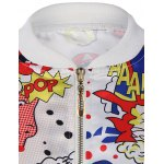 Funny Cartoon Print Bomber Jacket for sale