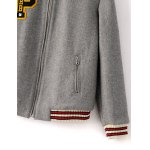 Padded Patched Baseball Jacket deal