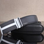 cheap Simple H Shape Automatic Buckle Wide Belt