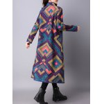 Argyle Chinese Style Loose Coat deal