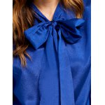 best Pussy Bow Organza Insert Blouse