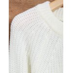 Distressed Asymmetrical Chunky Sweater deal