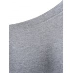 best Skew Neck Graphic Sweatshirt