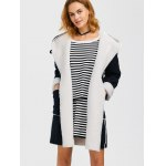 cheap Hooded Faux Shearling Lined Coat