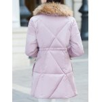 Faux Fur Puffer Coat with Pockets deal