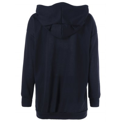 Cat Graphic Jumper HoodieSweatshirts &amp; Hoodies<br>Cat Graphic Jumper Hoodie<br><br>Material: Polyester<br>Clothing Length: Regular<br>Sleeve Length: Full<br>Style: Fashion<br>Pattern Style: Letter<br>Season: Fall,Spring,Winter<br>Weight: 0.470kg<br>Package Contents: 1 x Hoodie