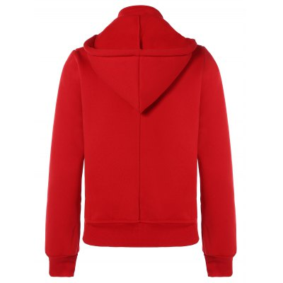 active-double-breasted-drawstring-hoodie