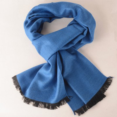 Winter Outdoor Fringe Scarf