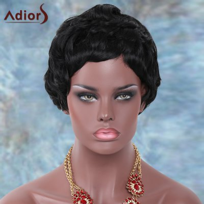 Outstanding Short Straight Adiors Synthetic Wig