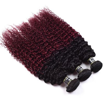 1 Pcs 6A Virgin Kinky Curly Ombre Color Brazilian Hair WeaveHair Weaves<br>1 Pcs 6A Virgin Kinky Curly Ombre Color Brazilian Hair Weave<br><br>Type: Human Hair Weaves<br>Hair Grade: 6A Virgin Hair<br>Source: Brazilian Hair<br>Material: Human Hair<br>Style: Kinky Curly<br>Hair Quality: Virgin Hair<br>Color Type : Ombre<br>Weight: 0.150kg<br>Package Contents(pcs): 1pc