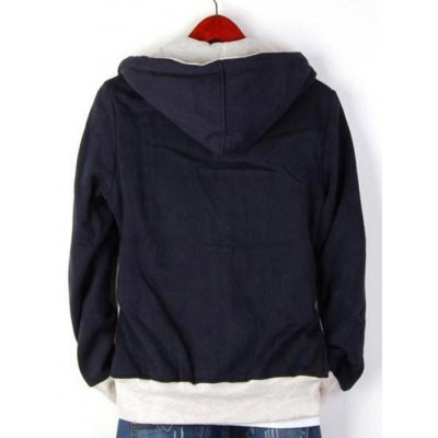 Zip Up Drawstring Striped Paneled HoodieMens Hoodies &amp; Sweatshirts<br>Zip Up Drawstring Striped Paneled Hoodie<br><br>Material: Cotton Blends<br>Clothing Length: Regular<br>Sleeve Length: Full<br>Style: Casual<br>Weight: 0.620kg<br>Package Contents: 1 x Hoodie