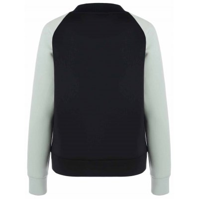 Raglan Sleeve Vertical Pockets Jacket