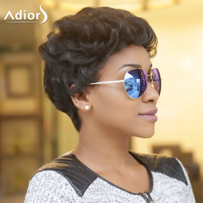 Adiors Short Fluffy Curly Synthetic Wig