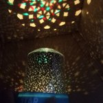 Romantic Colorful Star Sky Room Atmosphere Night Projector Lamp