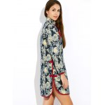 Floral Long Chinese Style Coat for sale