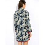 best Floral Long Chinese Style Coat