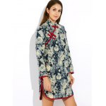 Floral Long Chinese Style Coat deal