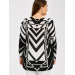 Plus Size Zigzag Pullover Sweater for sale