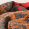 Winter Abstract Pattern Warm Scarf photo
