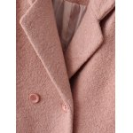 Lapel Wool Double Breasted Coat deal