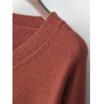 V Neck Drop Shoulder Sweater deal