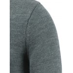 Crew Neck Pullover Color Block Sweater deal