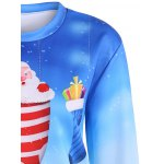 Ombre Color Socks Christmas Sweatshirt deal