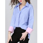 Pullover Striped BF Shirt deal