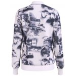 cheap Chinese Painting Zip Up Jacket