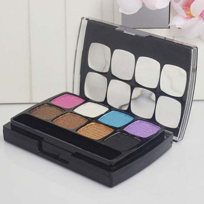 10 Colours Long Wear Eyeshadow Blush Makeup Palette Kit