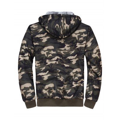 Thermal Camouflage Cool Zip Up Hoodies for MenMens Hoodies &amp; Sweatshirts<br>Thermal Camouflage Cool Zip Up Hoodies for Men<br><br>Clothing Length: Regular<br>Material: Cotton, Polyester<br>Package Contents: 1 x Hoodie<br>Sleeve Length: Full<br>Style: Casual<br>Weight: 0.820kg