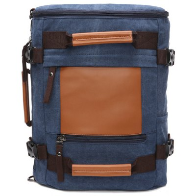 Canvas Zippers Backpack