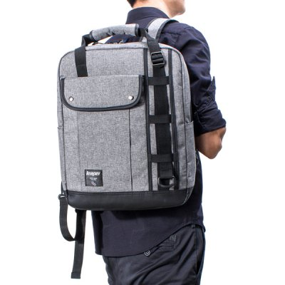 Colour Block Splicing Pockets BackpackMens Bags<br>Colour Block Splicing Pockets Backpack<br><br>Backpack Usage: Daily Backpack<br>Backpacks Type: Softback<br>Closure Type: Zipper<br>Pattern Type: Patchwork<br>Main Material: Canvas<br>Gender: For Men<br>Weight: 1.200kg<br>Package Contents: 1 x Backpack<br>Length: 30.5CM<br>Width: 14CM<br>Height: 39.5CM