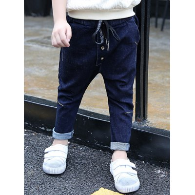 Boys Denim Harem Pants
