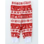 Long Sleeve Letters Print Christmas Pajamas for sale