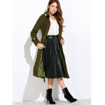 Belted Double Breasted Long Coat deal