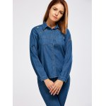best Graphic Embroidery Denim Shirt