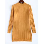 Ribbed Long Knitted Sweater