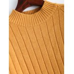 Ribbed Long Knitted Sweater for sale
