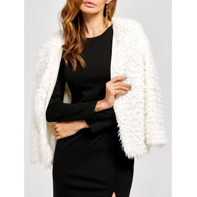 Faux Fur Fuzzy Jacket