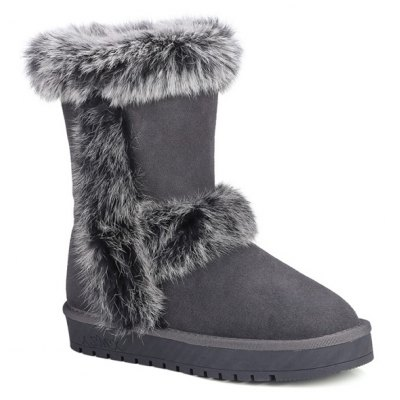 Furry Snow Boots