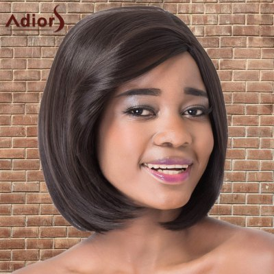 Adiors Short Bob Straight Side Parting Synthetic Wig