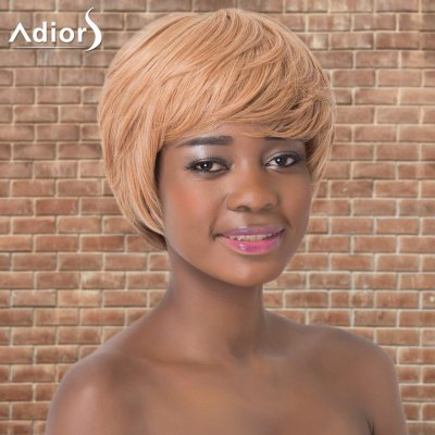 Adiors Short Layered Colormix Straight Side Parting Synthetic Wig