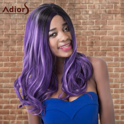 Adiors Highlight Long Wavy Side Parting Synthetic Wig