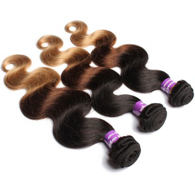 1 Pcs Body Wave 6A Virgin Multi Color Brazilian Hair Weave