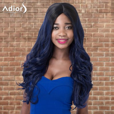 Adiors Highlight Wavy Centre Parting Long Shaggy Synthetic Wig